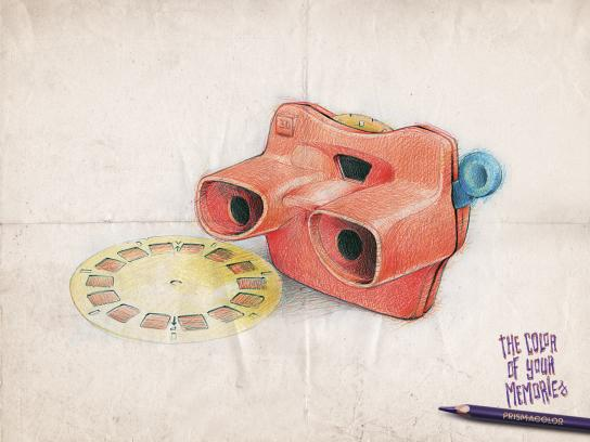Prismacolor Print Ad -  View master