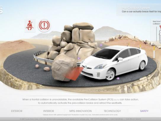 Toyota Digital Ad -  Prius experience