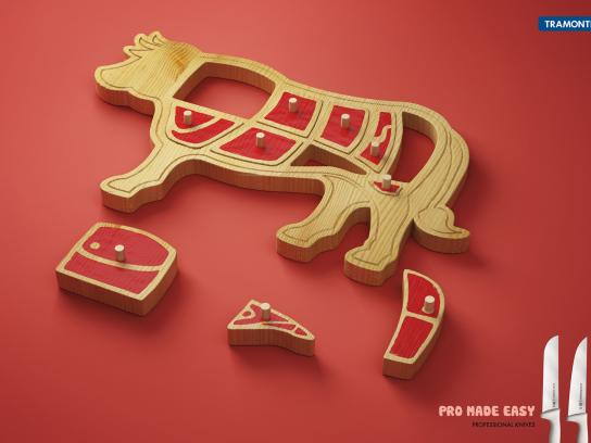 Tramontina Print Ad -  Cow