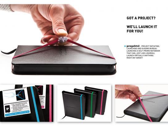Projektil Direct Ad -  Notebook