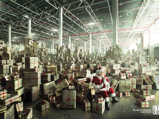 TPC Group Print Ad -  Santa Claus