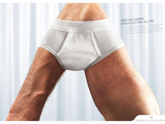 Prostate Cancer Foundation Print Ad -  Slip