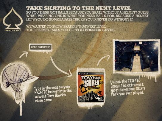 Pro-Tec Digital Ad -  The Next Level