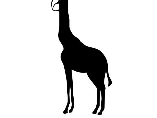 Pro Wildlife Print Ad -  Giraffe