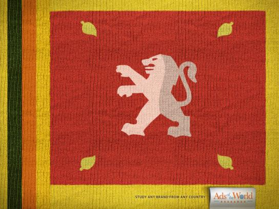 Ads of the World Print Ad -  Flags, 2
