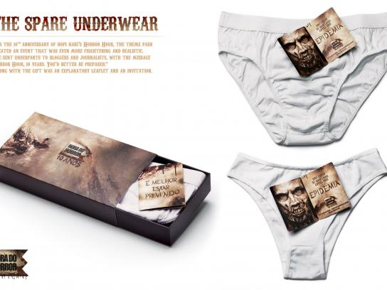 Hopi Hari Theme Park Direct Ad -  The Spare Underwear
