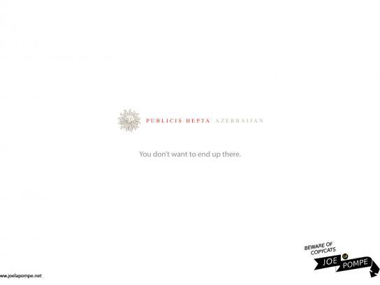 Joelapompe.net Print Ad -  Publicis