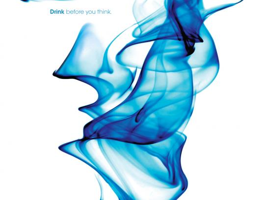 Pure Inventions Print Ad -  Drink before you think