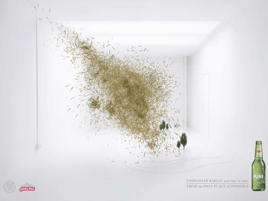 James Boag Print Ad -  Explosion, 3