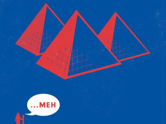 Powder Mountain Print Ad -  Pyramids