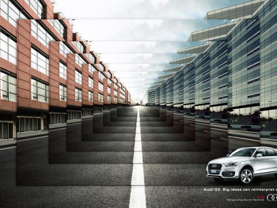 Audi Print Ad -  Frame