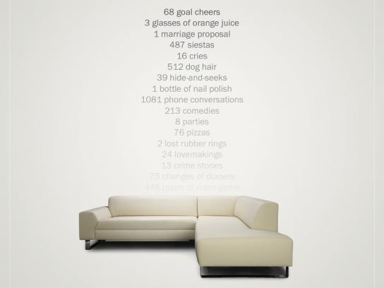 Quattro Mobili Print Ad -  Sofa