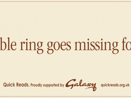 Mars Print Ad -  Ring