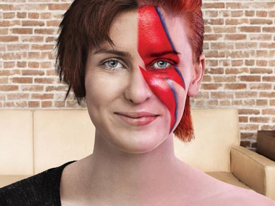 Quicksales.com.au Print Ad -  Alter Egos, Bowie fan