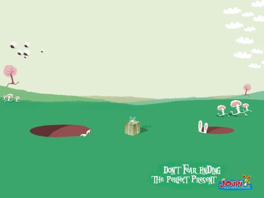 Joupi Print Ad -  Rabbit