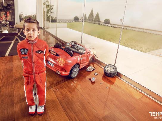 Templex Print Ad -  Racing
