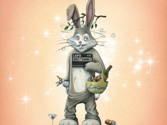 Radar Print Ad -  DUI Bunny