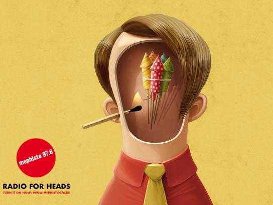 Radio Mephisto Print Ad -  Radio For Heads, Boy
