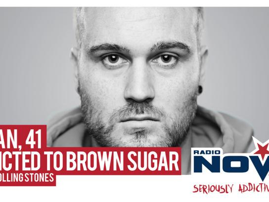 Radio Nova Outdoor Ad -  Brown Sugar
