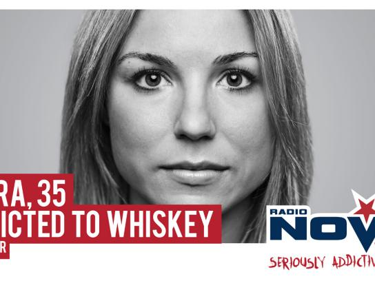 Radio Nova Outdoor Ad -  Whiskey