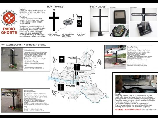 Johanniter-Unfall-Hilfe e.V. Audio Ad -  Radio Ghosts