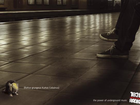 Radio 103 Print Ad -  Kurt