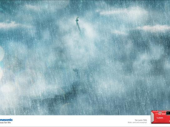 Panasonic Print Ad -  Weather, Rain