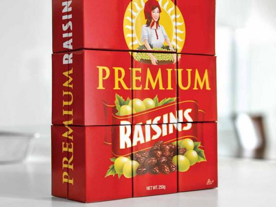 FreshLock Print Ad -  Raisins