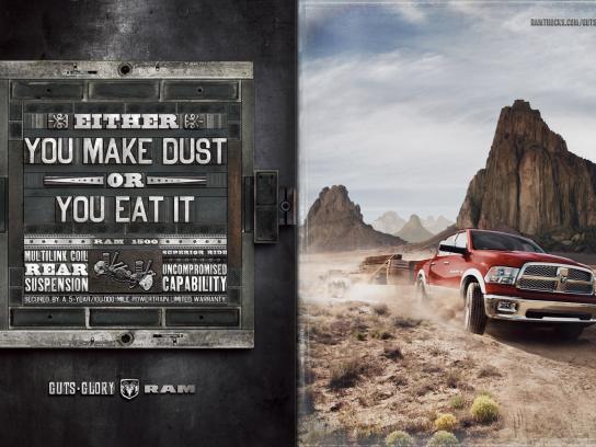 RAM Print Ad -  Dust