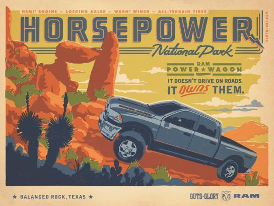 RAM Print Ad -  Horsepower
