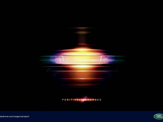 Range Rover Print Ad -  Positively Charged, 2