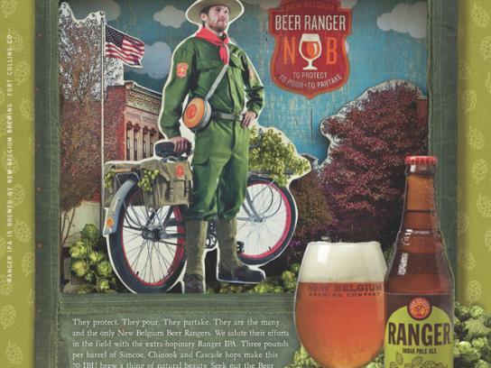 Ranger Print Ad -  Beer Rangers, 1