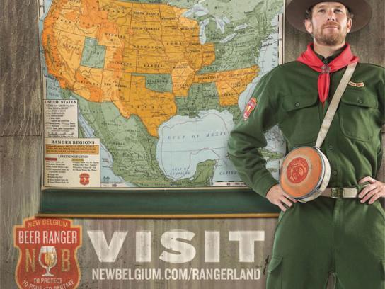 Ranger Print Ad -  Beer Rangers, 2