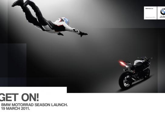 BMW Print Ad -  Get on! 2