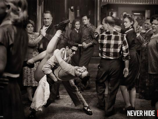 Ray-Ban Print Ad -  Dancing