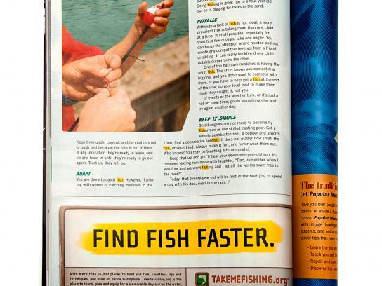RBFF Print Ad -  Fish Finder
