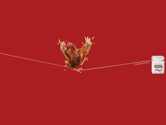 Johnson & Johnson Print Ad -  Chicken
