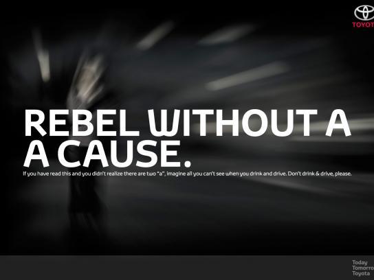 Toyota Print Ad -  Rebel