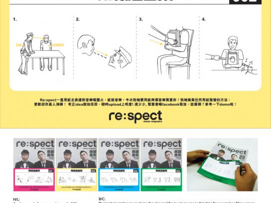 Re:spect Print Ad - spect Magazine  Music On Paper, Recruitment-Torment
