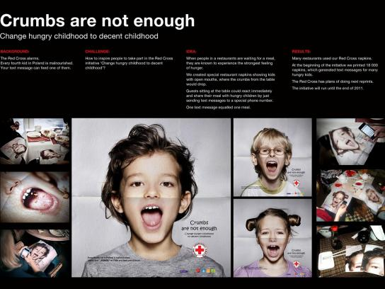 Red Cross Direct Ad -  Crumbs