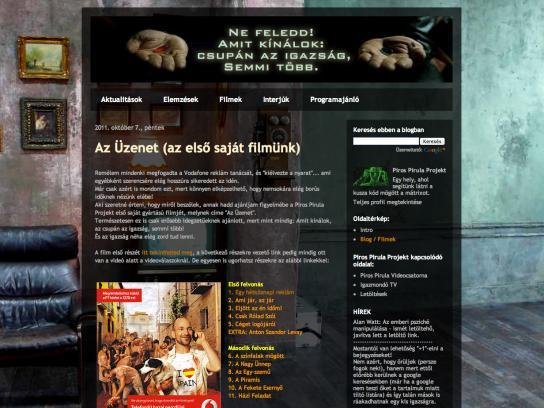 Vodafone Digital Ad -  Red Pill Project