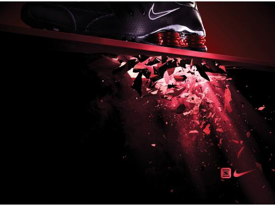Nike Outdoor Ad -  Red