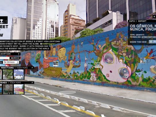 Red Bull Digital Ad -  Street Art View