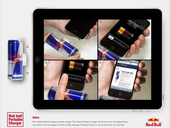 Red Bull Direct Ad -  Portable Charger