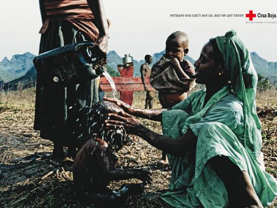 Red Cross Print Ad -  Africa