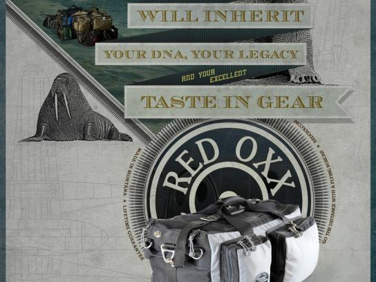 Red Oxx Print Ad -  Inheritance