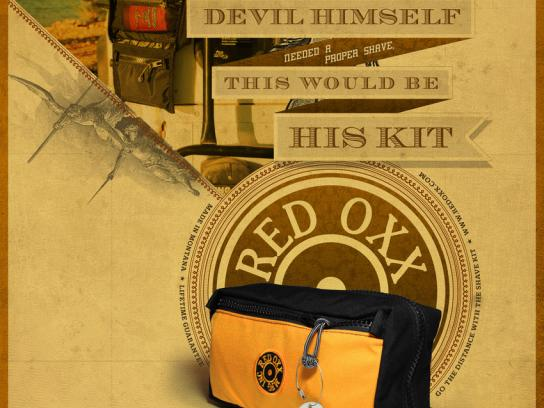 Red Oxx Print Ad -  The devil himself