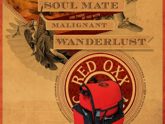 Red Oxx Print Ad -  Wanderlust