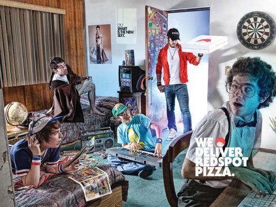 Redspot Print Ad -  Dorm