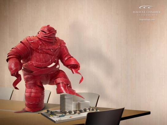 Red Tape Monster, 1